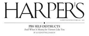 Harper's - Diane Ravitch