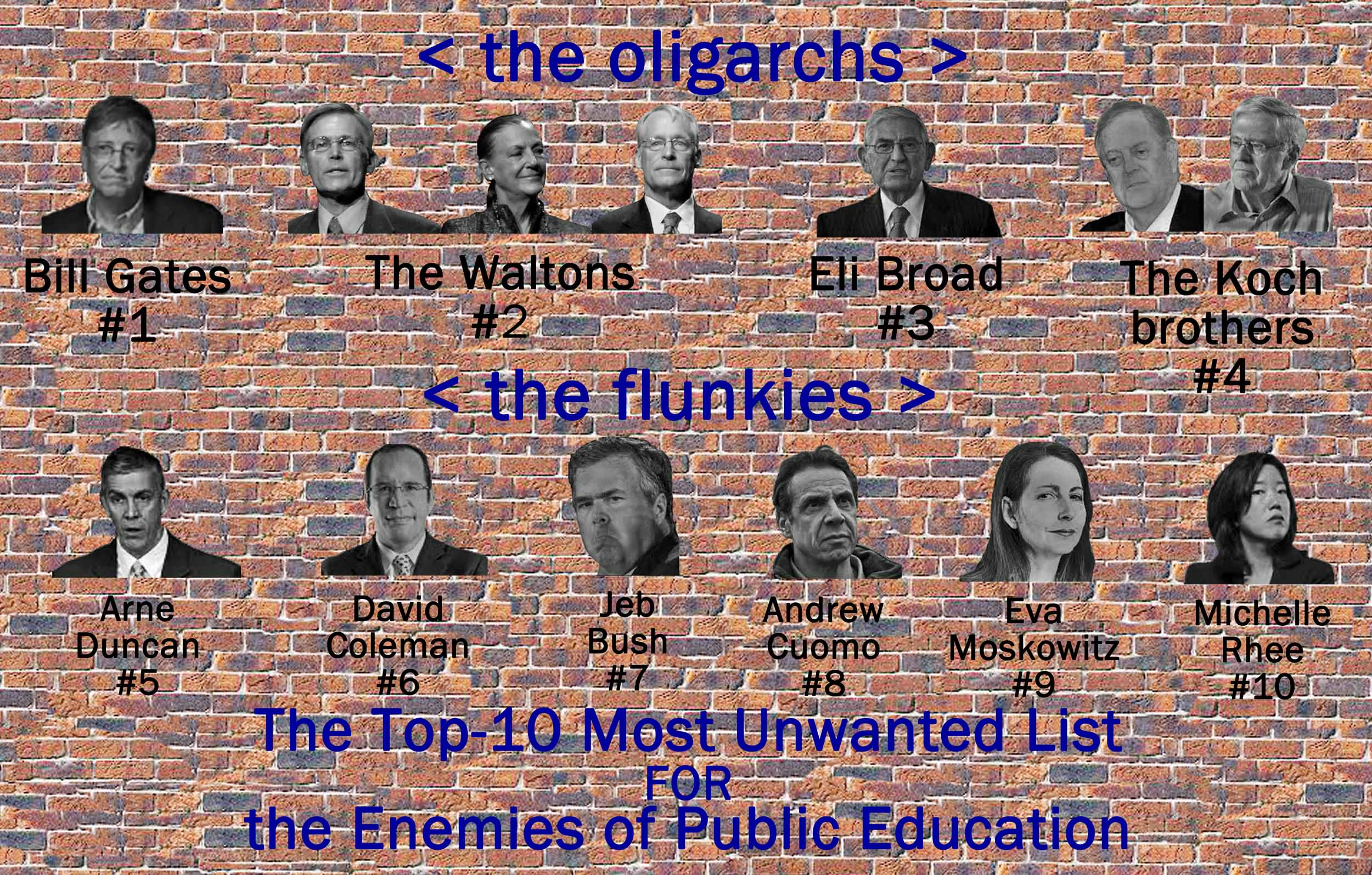Image result for The enemies of public education